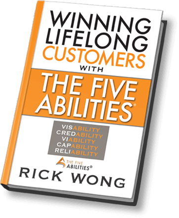 Winning Lifelong Customers with The Five Abilities, Author Rick WOng